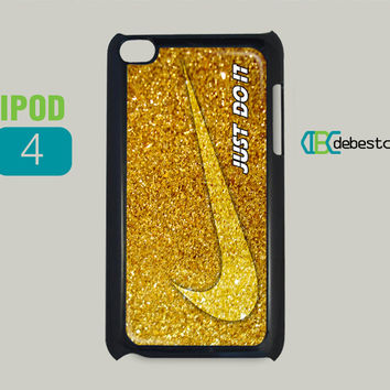 Nike With Luxury Glitter iPod Cases