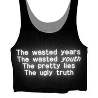 The ugly truth graphic tee