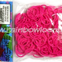 Hot Pink Bands (Limited Edition) | Rainbow loom
