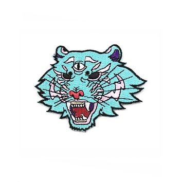 Neon Dream Tiger Patch
