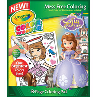 Crayola Color Wonder Coloring Pad - 18 Pages-Sofia The First