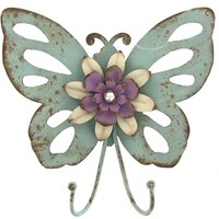 Antique Blue Metal Butterfly Hook | Shop Hobby Lobby