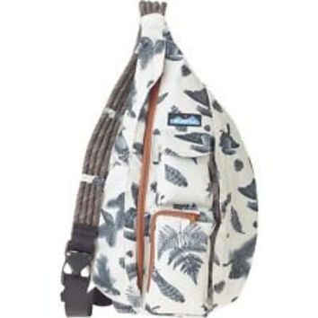 Monogrammed Kavu Rope Bags - Snow Timber - Great gift for College, Teens, Women, Outdoors Satchel Crossbody Tote