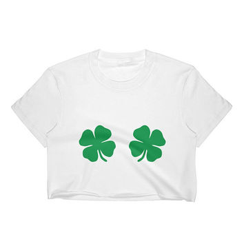 Shamrock Women's Crop Top  (Runs Small, Recommended to Go Up 1-2 Sizes)