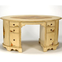 Opal Oval Desk : Desks Vanities at PoshTots