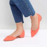 ASOS LEGENDARY Pointed Ballet Flats at asos.com