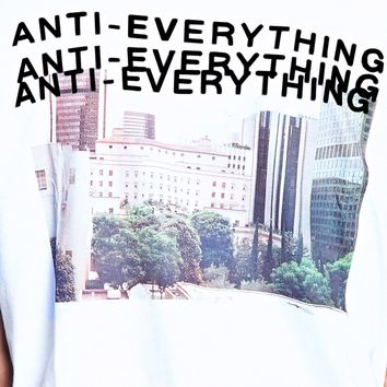 Anti-Everything Graphic Tee