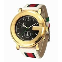 GUCCI Popular Woman Men Personality Lovers Quartz Movement Watch Wristwatch And Couple Ring I