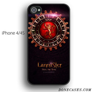 house lannister game of thrones case for iPhone 4[S]