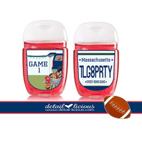 Mini Hand Sanitizer Favors, Tailgating Favors, Favor, Football Party, Football Favors, Party Favor, Personalized Favors, Football Sanitizers