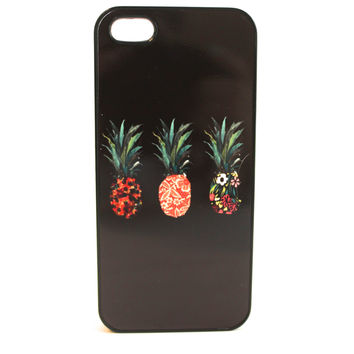 Patterned Pineapples Phone Case