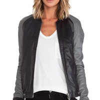 Muubaa Amato Bomber in Black