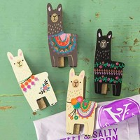 Llama Magnet Happy Clips By Natural Life