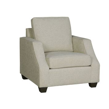 Hadley Transitional Chair Ivory