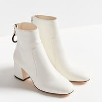 Harlow Faux Leather O-Ring Ankle Boot | Urban Outfitters