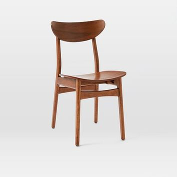 Classic Café Dining Chair - Walnut