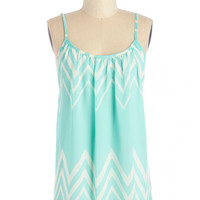 ModCloth Mid-length Spaghetti Straps Spindrift Darling Tank