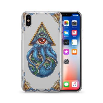 Against The World - Clear TPU Case Cover
