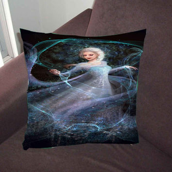 Disney Frozen Princess Elsa e6135189-5762-41c9-85de-29e32796cf75 - Pillow Case, Pillow Cover, Custom Pillow Case *02*