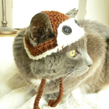 Aviator Cat Hat Dog Hat Aviator Cat Dog Costume Pilot Hat Costume for Cats and Small Dogs Aviator Pet Hat Pilot Cat Costume Pilot Cat Hat
