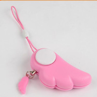 Pink Angel Personal Alarm with Key Ring Electronic Protection