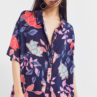 Silence + Noise Estelle Printed PJ Top | Urban Outfitters