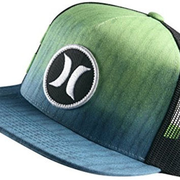 Hurley Mens Block Party Hyper Flow Snapback Trucker Hat