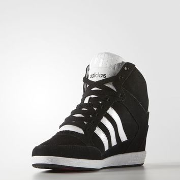 adidas Super Wedge Shoes - Black | adidas US