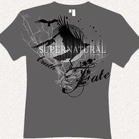 Supernatural Crows Truth Fate T-Shirt Size SMALL SEARCH FOR OTHER SIZES