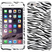 Apple iPhone 6 Plus 6S Plus (5.5) Zebra Skin Phone Protector Case Cover