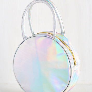 Well-Rounded Palate Lunch Bag in Iridescent | Mod Retro Vintage Kitchen | ModCloth.com