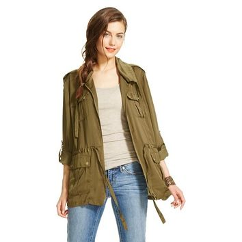 Lightweight Cargo Jacket - XOXO