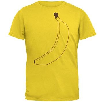 Halloween Fruit Banana Costume Mens T Shirt