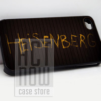 Heisenberg Breaking Bad - for case iPhone 4/4s/5/5c/5s-Samsung Galaxy S2 i9100/S3/S4/Note 3-iPod 2/4/5-Htc one-Htc One X-BB Z10