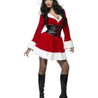 Hooded Santa Costume - Small - Dress Size 6-8