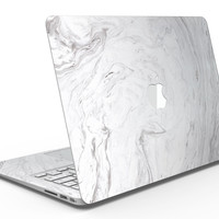 Mixtured Gray v12 Textured Marble - MacBook Air Skin Kit