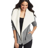 Sherpa Collar Open Jacket
