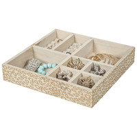 8 Section Jewelry Tray / Drawer Organizer / Storage Tray