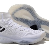 Adidas Performance Men's Crazy Explosive 2017 Primeknit Basketball-Shoes - White