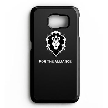 WORLD OF WARCRAFT ALLIANCE WOW Samsung Galaxy S4 Galaxy S5 Galaxy S6 Edge Case | Note 3 Note 4 Note 5 Case