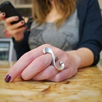 The Undercurrent Ring by chadwick on Sense of Fashion