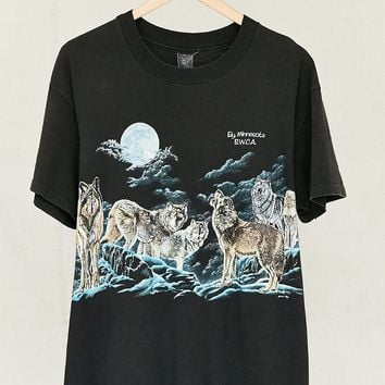 Vintage Wolves Tee - Urban Outfitters