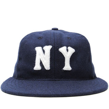 Ebbets Field Flannels - New York Black Yankees 1936 Ballcap (Navy)