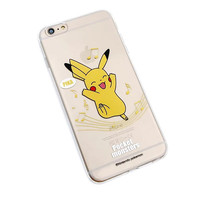 Pokemon Go Pikachu Soft Silicone Phone Case Cover Shell For iPhone 5 5S SE 6 6S 6 Plus 6s Plus