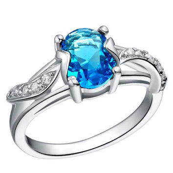 Silver Accessories Gemstone Ring = 5839550209