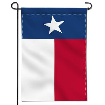 Anley Double Sided Premium Garden Flag, Texas State Decorative Garden Flags - Weather Resistant & Double Stitched - 18 x 12.5 Inch