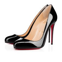 Dorissima 100mm Black Patent Leather