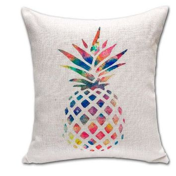 Day-First™ Home Decor Soft Comfortable Cotton Pineapple Pillow