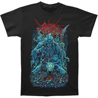 Cattle Decapitation Men's  Death Looms T-shirt Black Rockabilia