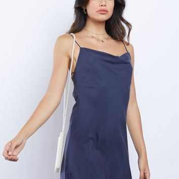 Midnight in Santorini Mini Dress